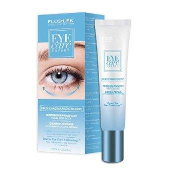 Floslek, Eye Care Expert, krem pod oczy przeciwzmarszczkowy, 15 ml-Floslek