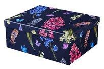 Flower Blossom, Pudełko prezentowe, granatowe, rozmiar L