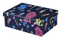 Flower Blossom, Pudełko prezentowe, granatowe, rozmiar M