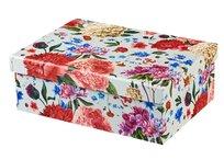 Flower Blossom, Pudełko prezentowe, szare, rozmiar M