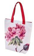 Flower Blossom, Torba na ramię, biała-Empik