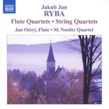 Flute Quartets/ String Quartets-Ostry Jan