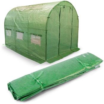 Folia do tunelu ogrodowego PLONOS, zielona, 6 m2-Plonos