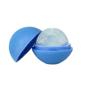 Foremki do lodu GIFT WORLD Football, niebieskie, 2 szt.-GADGET