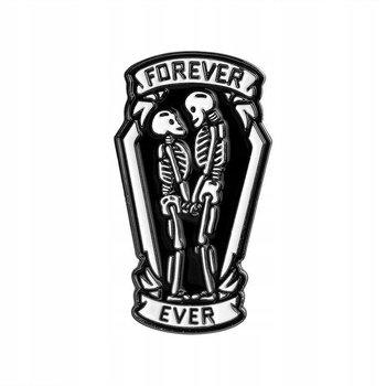 Forever Ever przypinka szkielety-Pinets