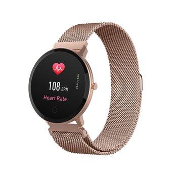 Forever, Smartwatch, ForeVive SB-320, różowe złoto-Forever