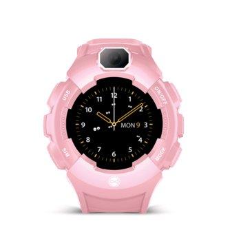 Forever, Zegarek GPS WiFi kids Care Me KW-400, różowy-Forever