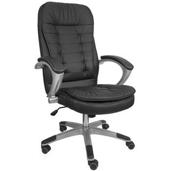 Fotel Biurowy Obrotowy Konsul 322 Czarny 50x50x110 Cm