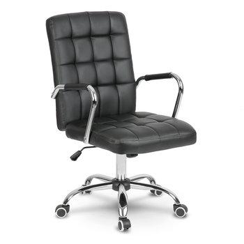 Fotel biurowy SOFOTEL Benton, czarny, 105x51x66 cm-SOFOTEL