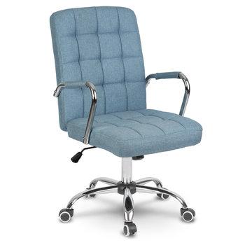 Fotel biurowy SOFOTEL Benton, niebieski-SOFOTEL