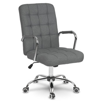 Fotel biurowy SOFOTEL Benton, szary, 1 szt.-SOFOTEL