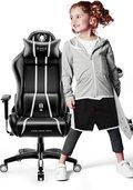 Fotel gamingowy DIABLO X-One 2.0 Kids Size, biały, 63x66x116 cm-Diablo Chairs