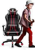 Fotel gamingowy DIABLO X-One 2.0 Kids Size, czerwony, 63x66x116 cm-Diablo Chairs