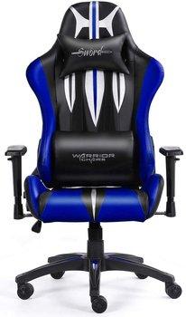 Fotel gamingowy WARRIOR CHAIRS Sword, czarno-niebieski-Warrior Chairs
