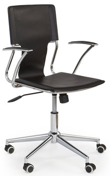 Fotel obrotowy PROFEOS Brad, czarny, 52x59x87 cm-Profeos