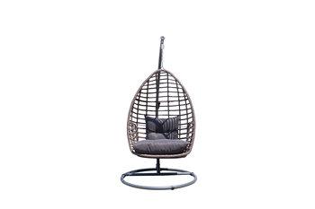 Fotel wiszący BELLO GIARDINO Piatto, brązowy, 110x83x73 cm-Bello Giardino