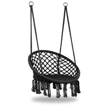 Fotel wiszący MODERNHOME Bocianie Gniazdo, czarny-Modernhome