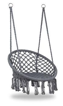 Fotel wiszący MODERNHOME Bocianie Gniazdo, szary-Modernhome