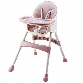 Fotelik 2 w 1 do karmienia dziecka, Pink Ecotyos-Ecotoys
