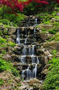 Fototapeta  Nice Wall, Kaskadowy wodospad  115x175 cm-Nice Wall