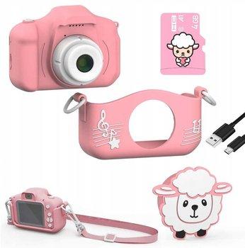 Frahs, Cyfrowy aparat dla dzieci, Owieczka, różowy-Frahs