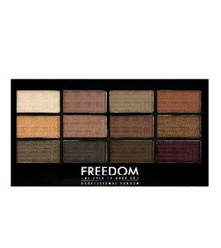 Freedom Makeup, Pro Eyeshadow, paleta cieni do powiek Secret Rose, 12 g-Freedom Makeup