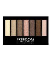 Freedom Makeup, Pro Shade&Brighten, paleta cieni do powiek Shimmers Kit