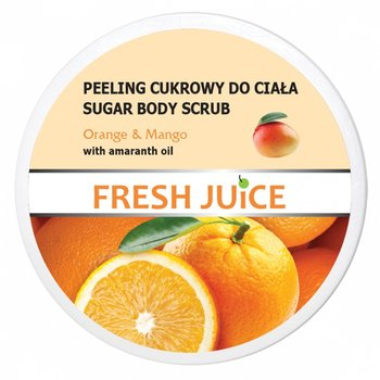 Fresh Juice Peeling cukrowy do ciała Orange  Mango  225ml - Elfa Pharm