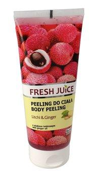 Fresh Juice, peeling do ciała Litchi & Ginger, 200 ml-Fresh Juice