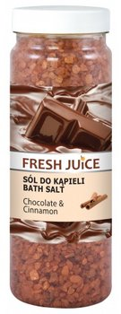 Fresh Juice, sól do kąpieli Chocolate & Cinnamon, 700 g-Fresh Juice