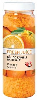 Fresh Juice, sól do kąpieli Orange & Guarana, 700 g-Fresh Juice