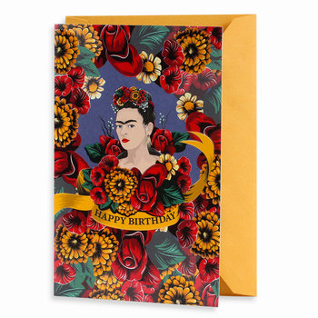 Frida Kahlo, Kartka okolicznościowa, Happy Birthday-Empik