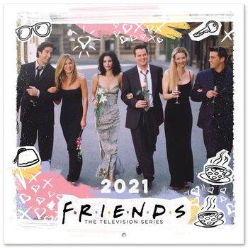 Friends - kalendarz ścienny 2021 30x30 cm