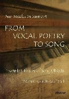 From Vocal Poetry to Song-Surmont Jean Nicolas