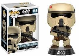 Funko POP,  figurka kolekcjonerska Star Wars Scarif Stormtrooper, 145-Funko POP