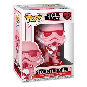 Funko POP, figurka kolekcjonerska Walentynkowy Szturmowiec Star Wars, 418-Funko POP