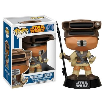 Funko POP, figurka Star Wars - Princess Leia [Boushh]-Funko POP