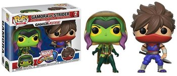 Funko POP,  Marvel, figurka Capcom Gamora/Strider-Funko POP