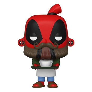 Funko POP, Marvel, figurka kolekcjonerska Deadpool Barista-Funko POP