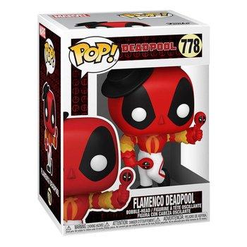 Funko POP, Marvel, figurka kolekcjonerska Flamenco Deadpool -Funko POP