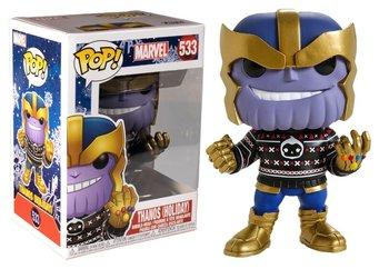 Funko, POP Marvel Holiday S2, figurka Thanos-Funko POP