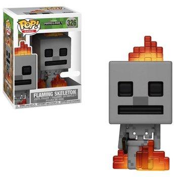 Funko POP, Minecraft, figurka (Games) Minecraft Skeleton W/ Fire-Funko POP