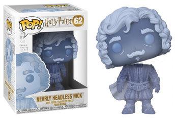 Funko, POP Movies, figurka Harry Potter Nearly Headless Nick (Blue Trans)-Funko POP
