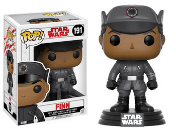 Funko, POP Star Wars Bobble, figurka E8 Finn - Funko POP