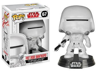 Funko, POP Star Wars Bobble, figurka E8 First Order Snowtrooper-Funko POP