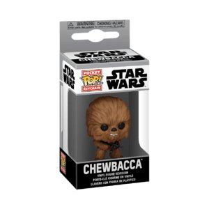 Funko POP, Star Wars, figurka kolekcjonerska brelok Chewbacca-Funko POP