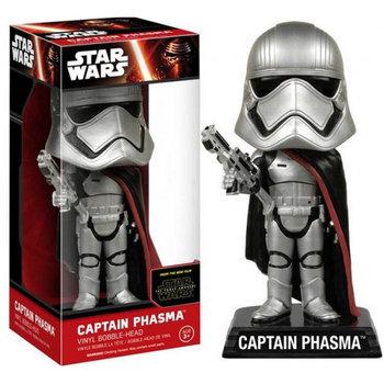 Funko POP, Star Wars, figurka kolekcjonerska Wobbler Captain Phasma -Funko POP