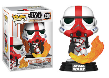 Funko POP, Vinyl, The Mandalorian, figurka Incinerator Stormtrooper - Funko POP