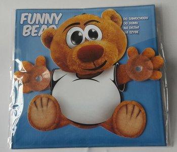 Funny Bear, Zawieszka na szybę, Uśmiechnięta buzia