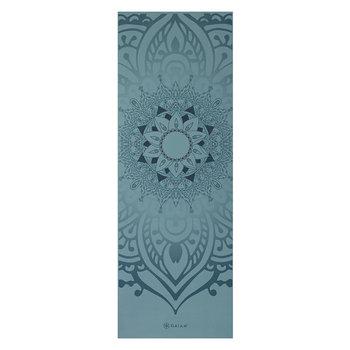 Gaiam, Mata do jogi, niebieski, 173x61cm-GAIAM